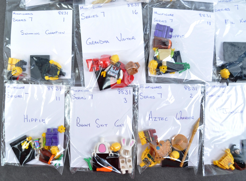 LEGO MINIFIGURES - 8831 - SERIES 7 COMPLETE MINIFIGURE SET - Image 2 of 6