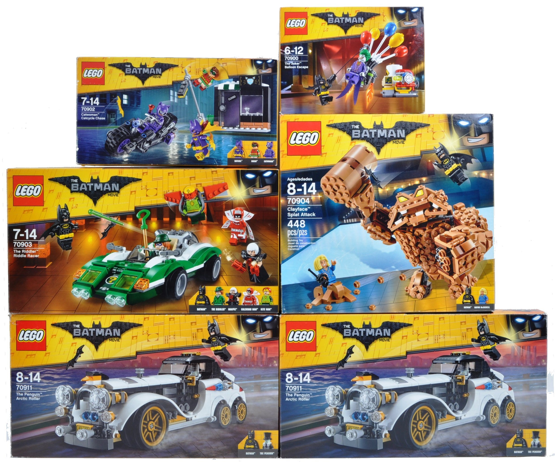 LEGO SETS - THE BATMAN MOVIE