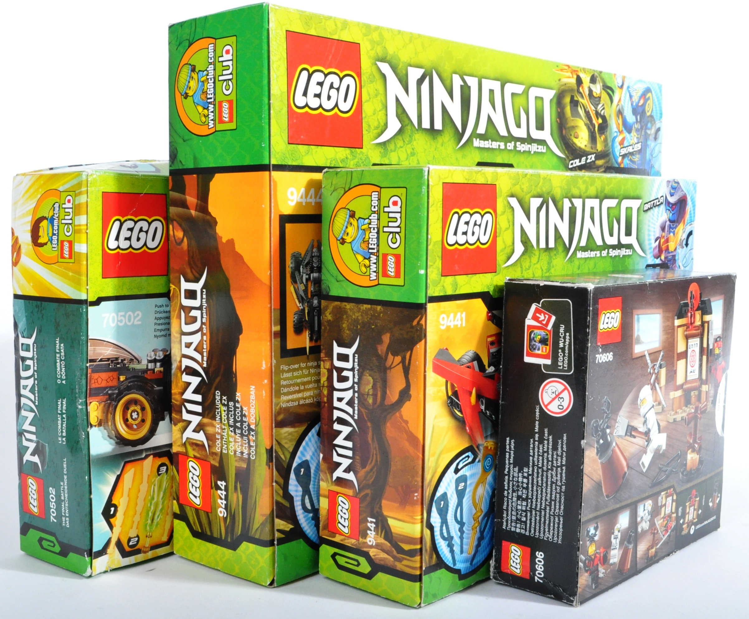 LEGO SETS - LEGO NINJAGO - 9441 / 70606 / 70502 / 9444 - Image 3 of 4
