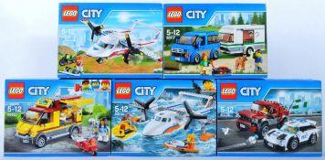 LEGO SETS - LEGO CITY - 60116 -60117 - 60128 - 60150 - 60164