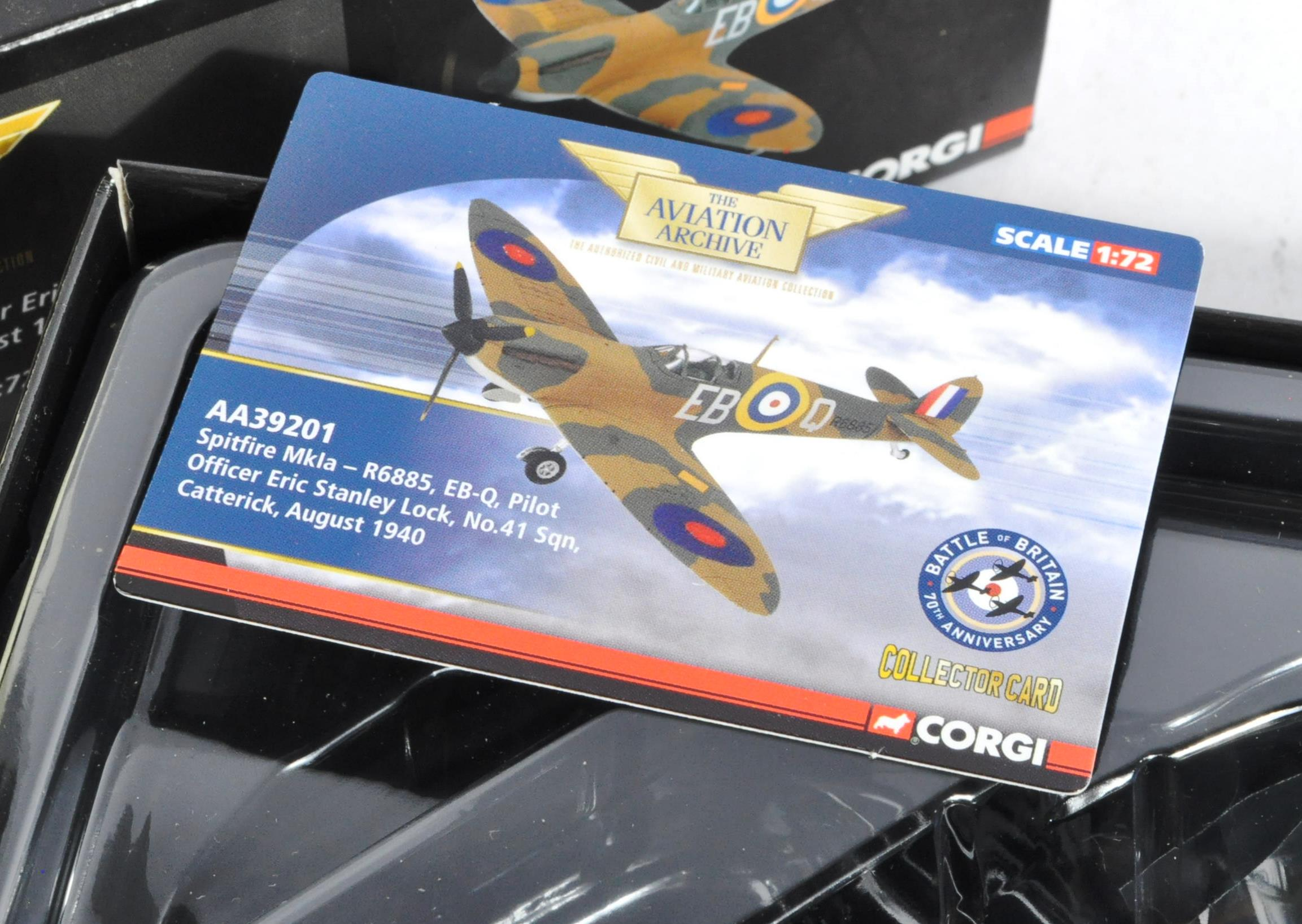 CORGI AVIATION ARCHIVE - TWO BOXED 1/72 SCALE LIMITED EDITION MODELS - Image 2 of 5