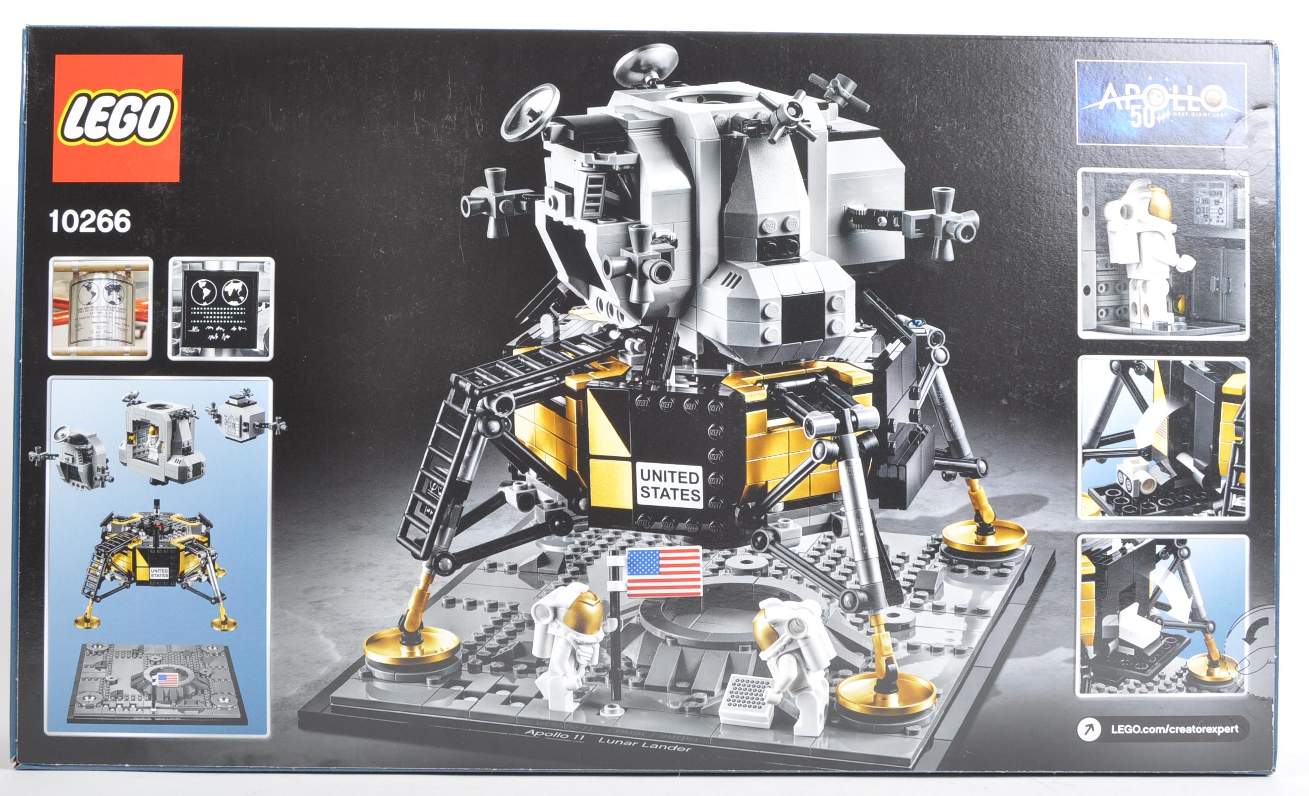 LEGO SET - LEGO CREATOR - 10266 - NASA APOLLO 11 LUNAR LANDER - Image 2 of 3