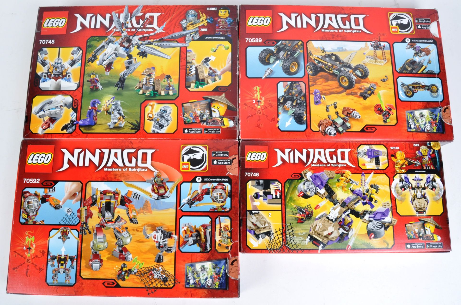 LEGO SETS - LEGO NINJAGO - 70589 / 70592 / 70746 / 70748 - Image 2 of 10