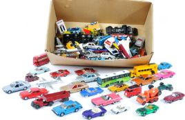 LARGE COLLECTION OF VINTAGE DINKY & CORGI TOYS DIECAST CARS