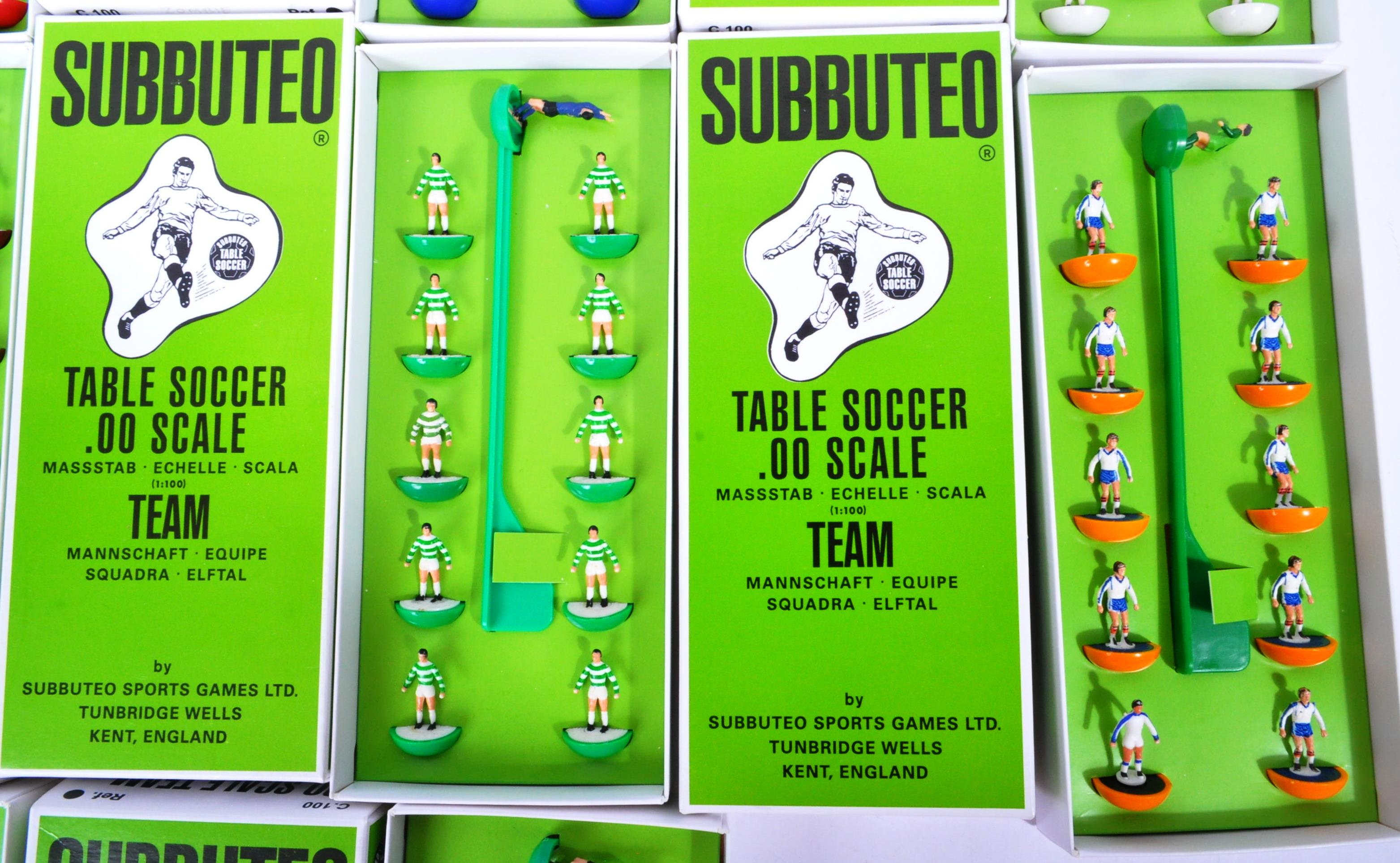 COLLECTION OF X10 ASSORTED VINTAGE SUBBUTEO FOOTBALL TEAMS - Image 3 of 6