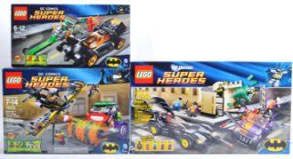 LEGO SETS - LEGO DC COMICS SUPERHEROES - 6864 / 76012 / 76013