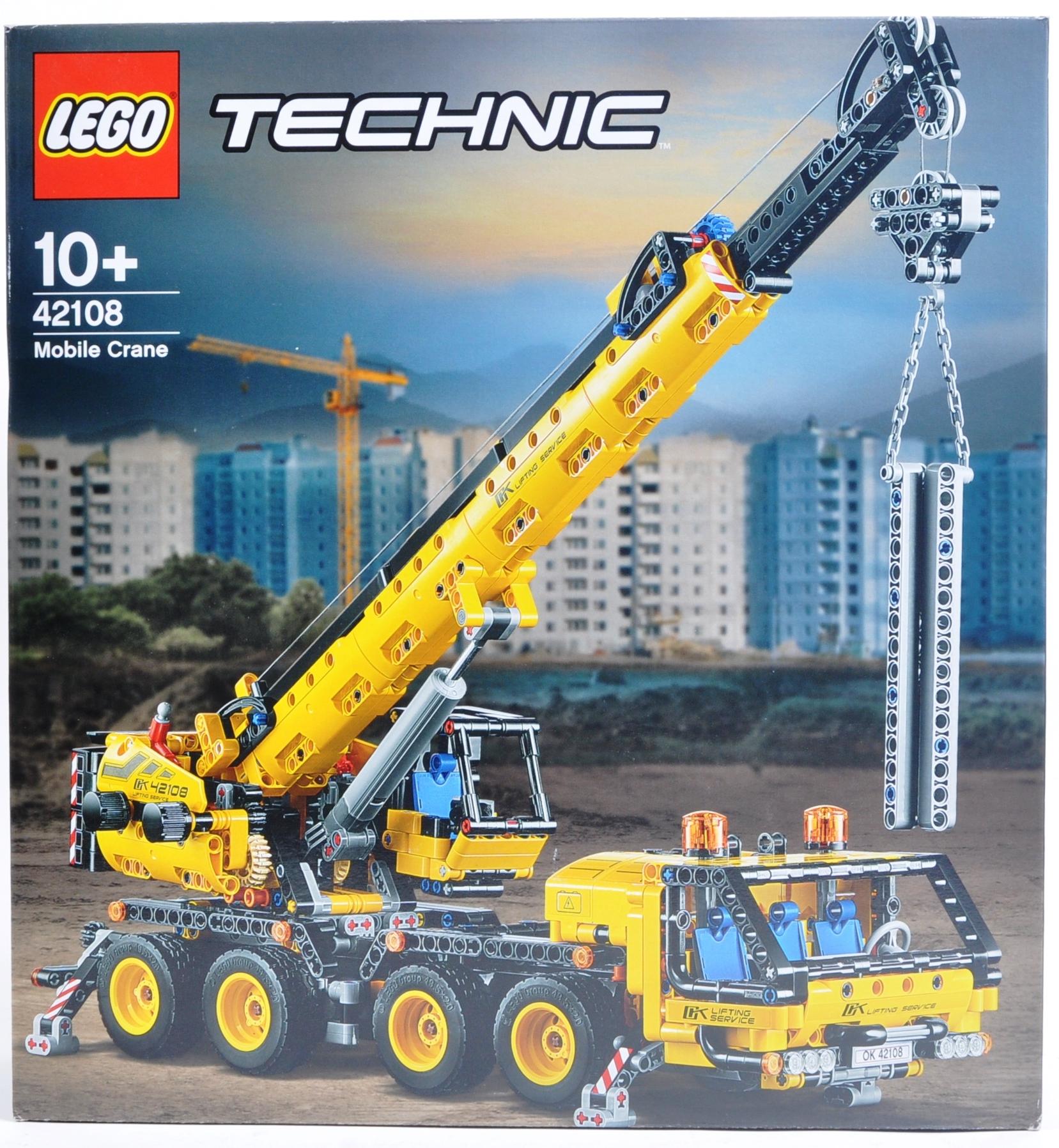 LEGO SET - LEGO TECHNIC - 42108 - MOBILE CRANE