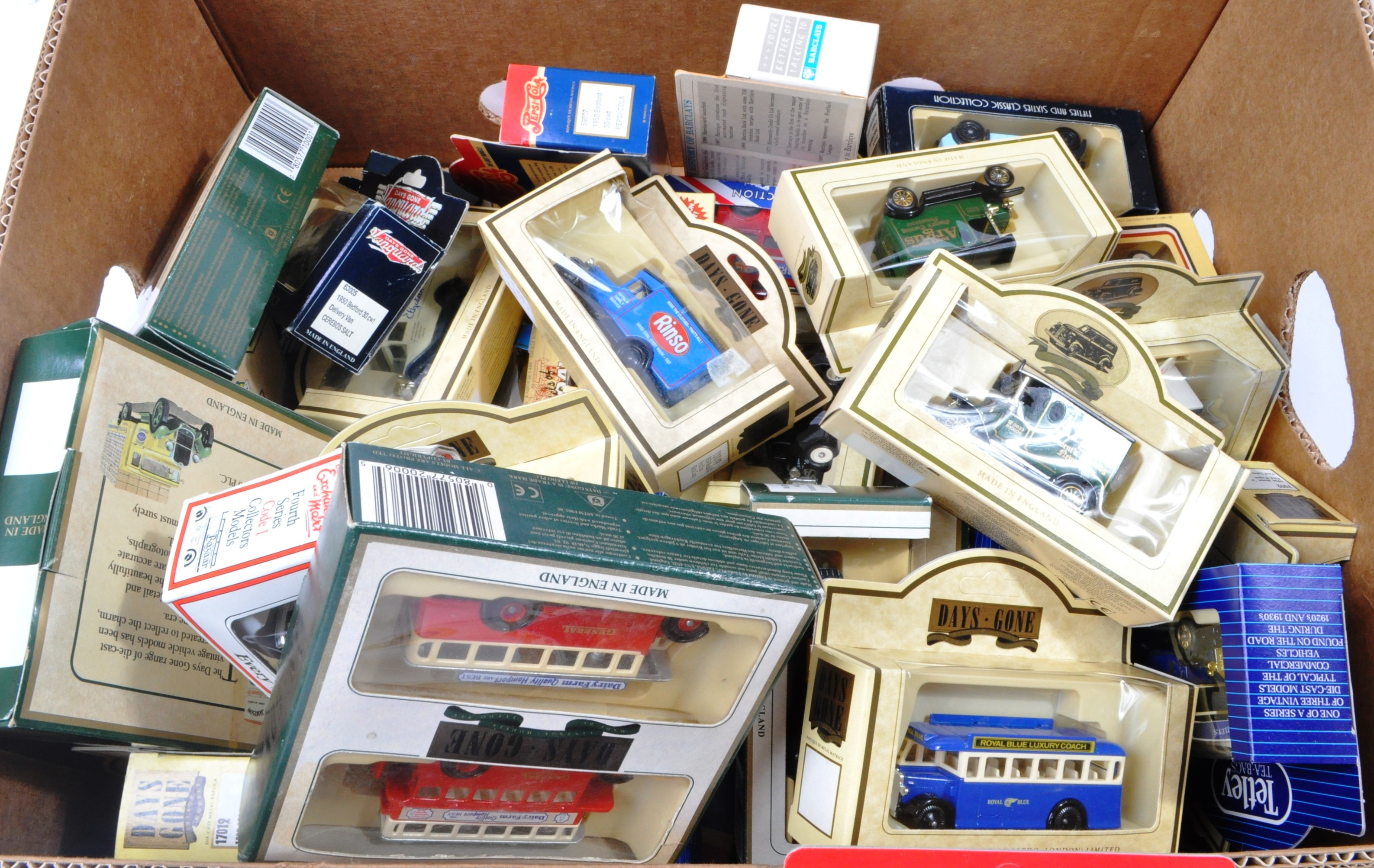 COLLECTION OF ASSORTED LLEDO DIECAST MODELS OF DAYS GONE - Image 4 of 4