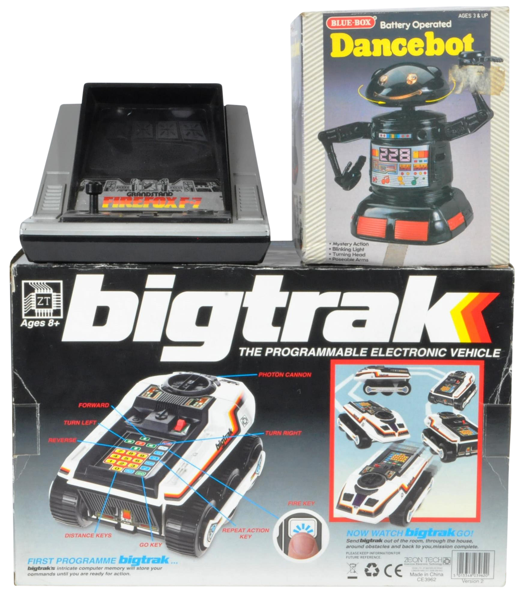 COLLECTION OF ASSORTED VINTAGE ELECTRONIC TOYS AND GAMES