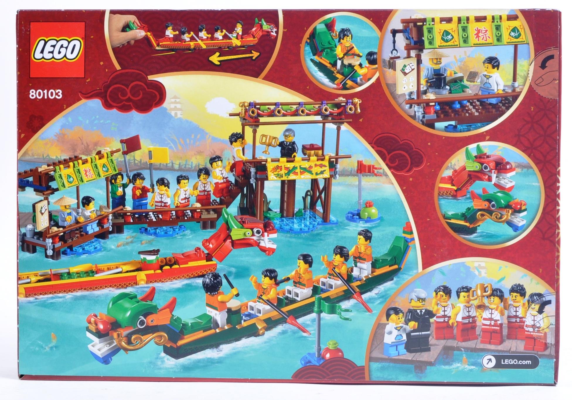 LEGO SET - 80103 - DRAGON BOAT RACE - Image 2 of 4