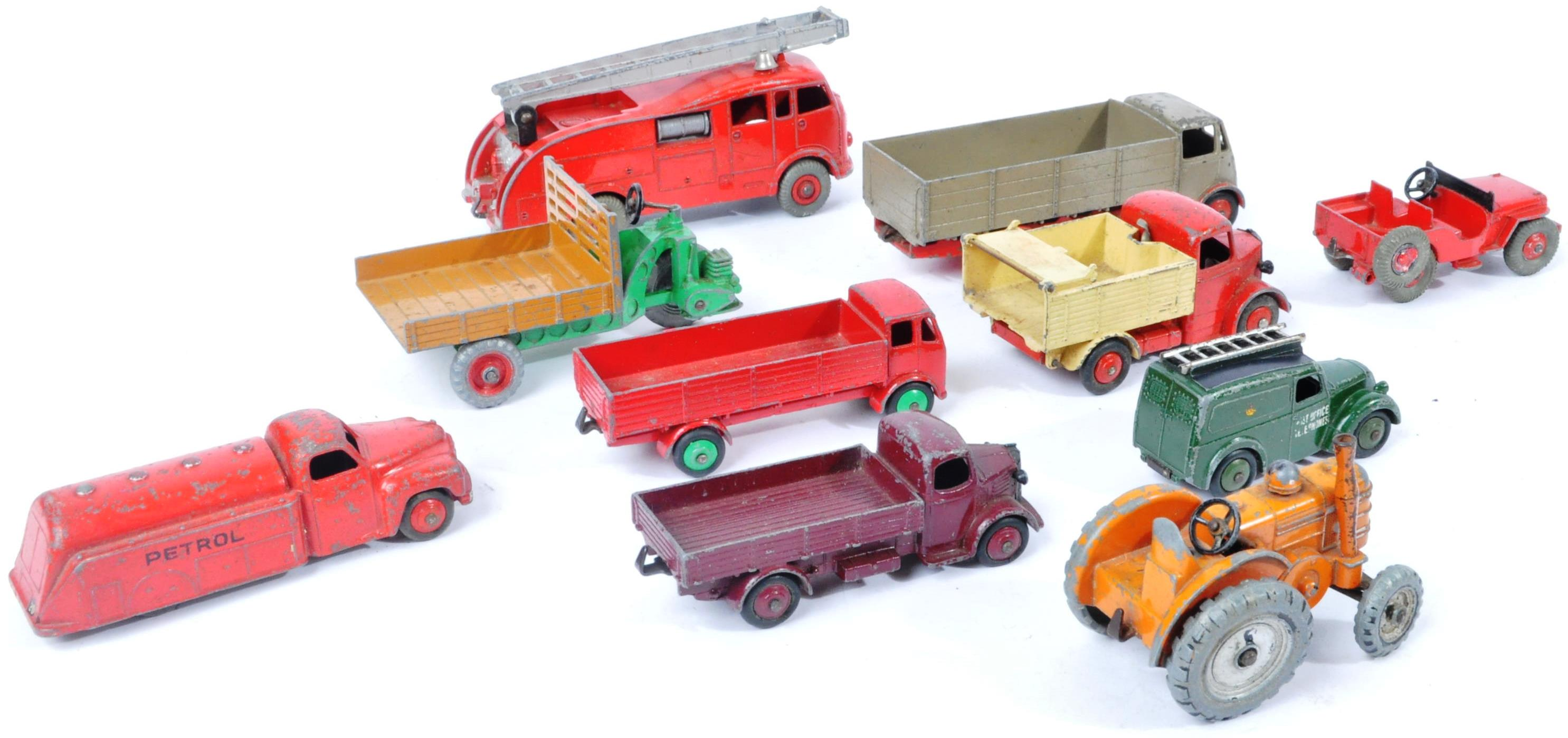 COLLECTION OF X10 VINTAGE DINKY TOYS DIECAST MODEL TRUCKS - Image 13 of 14