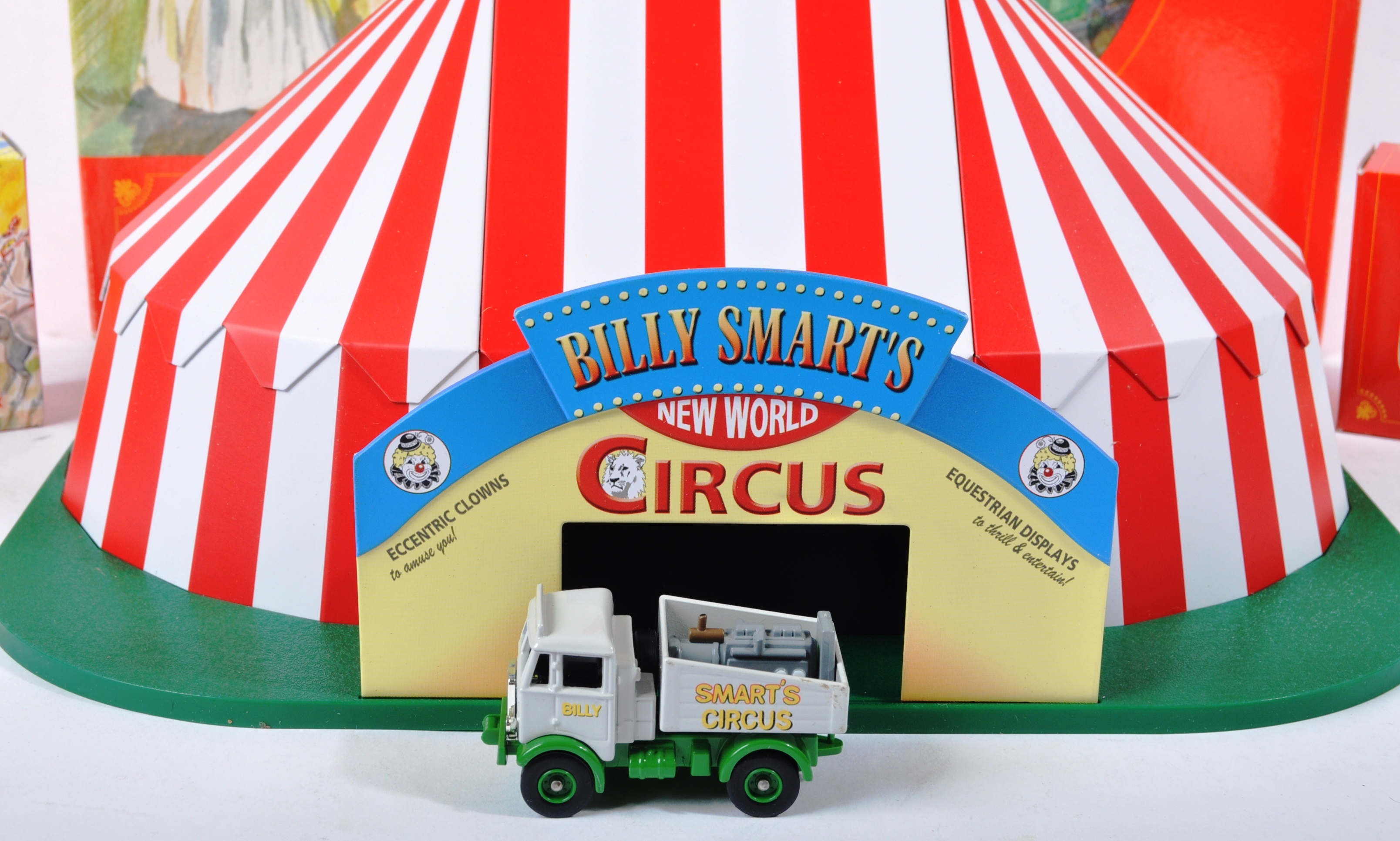 COLLECTION OF LLEDO DAYS GONE BILLY SMARTS CIRCUS DIECAST - Image 2 of 9