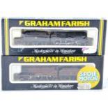 TWO ORIGINAL GRAHAM FARISH N GAUGE MODEL RAILWAY LOCOMOTIVE