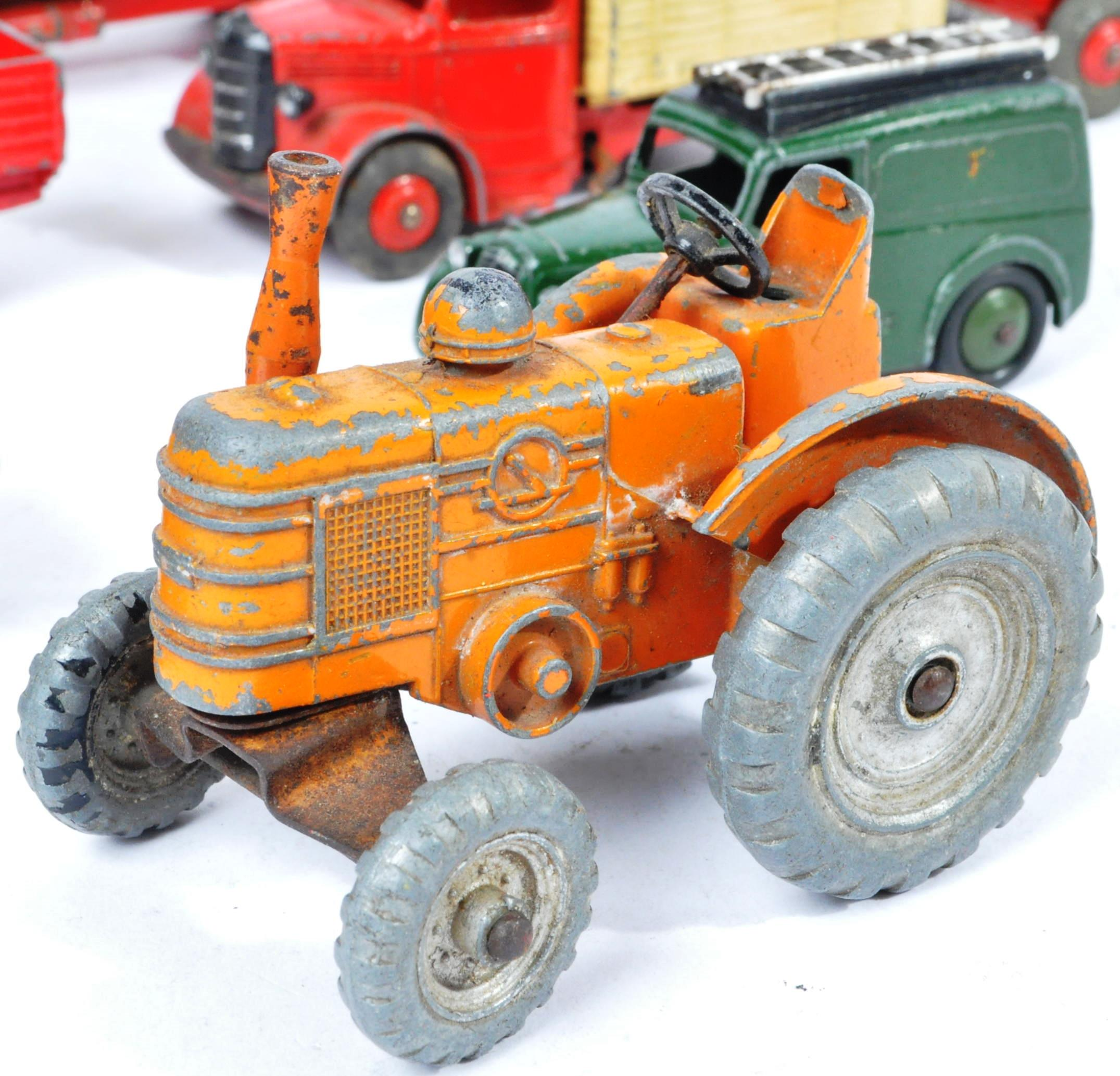 COLLECTION OF X10 VINTAGE DINKY TOYS DIECAST MODEL TRUCKS - Image 9 of 14