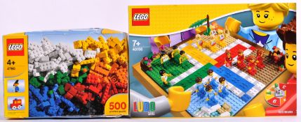 LEGO SETS - 4780 BULK SET 500 / 40198 LUDO GAME