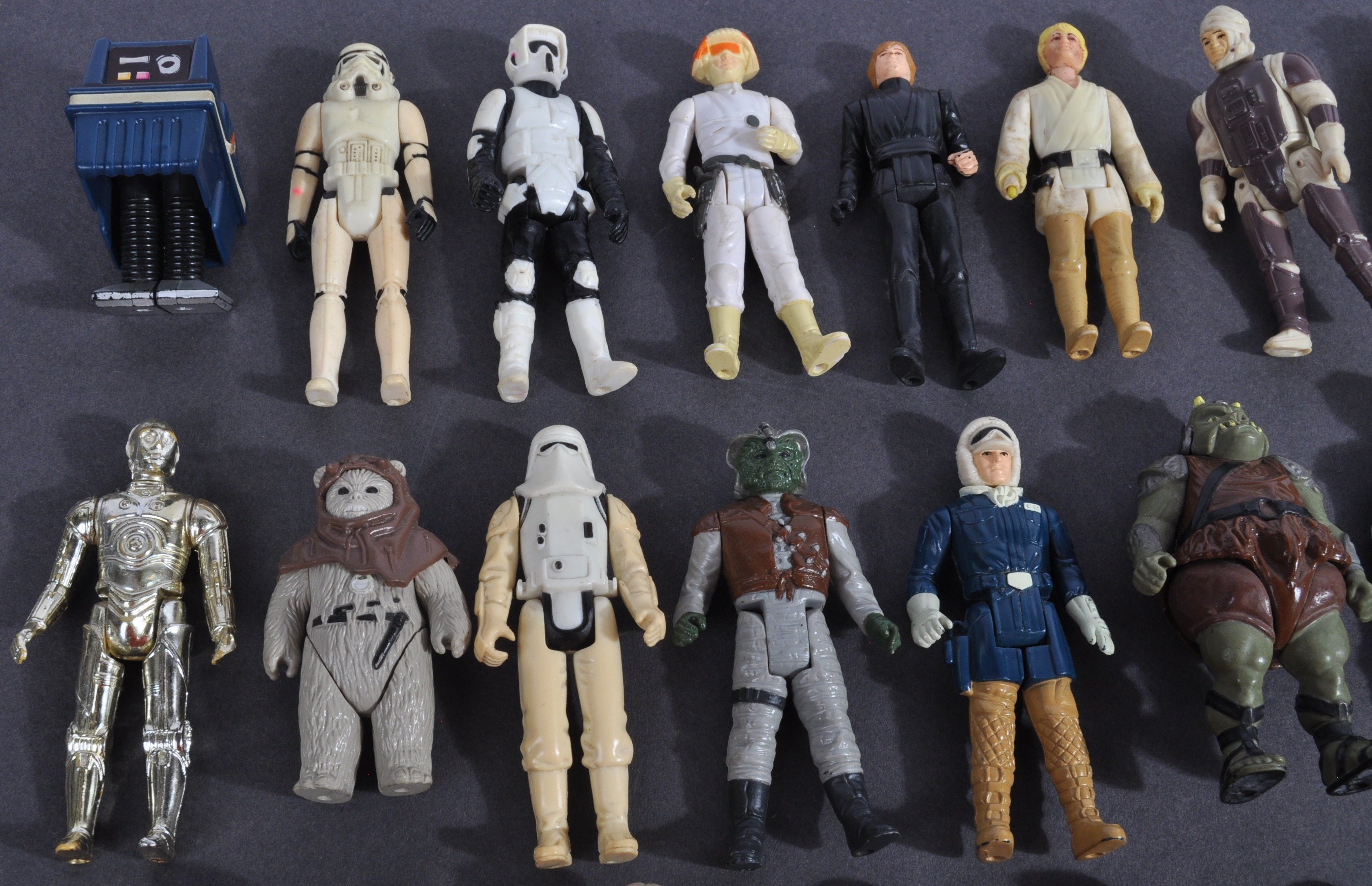 STAR WARS - COLLECTION OF VINTAGE KENNER / PALITOY ACTION FIGURES - Image 2 of 7