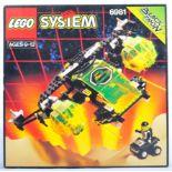 LEGO SET - LEGO SYSTEM - 6981 - BLACK TRON / ARIEL INTRUDER