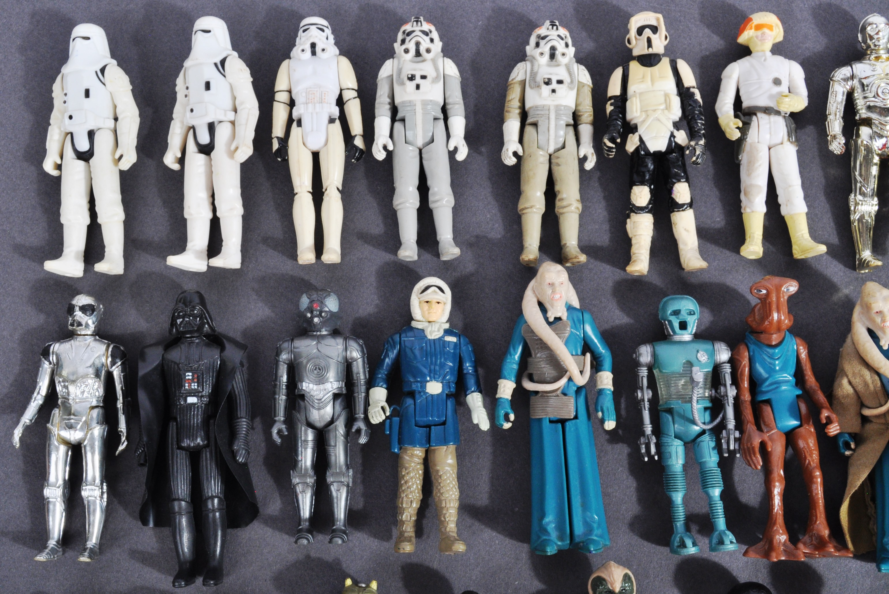 STAR WARS - COLLECTION OF VINTAGE KENNER / PALITOY ACTION FIGURES - Image 5 of 5