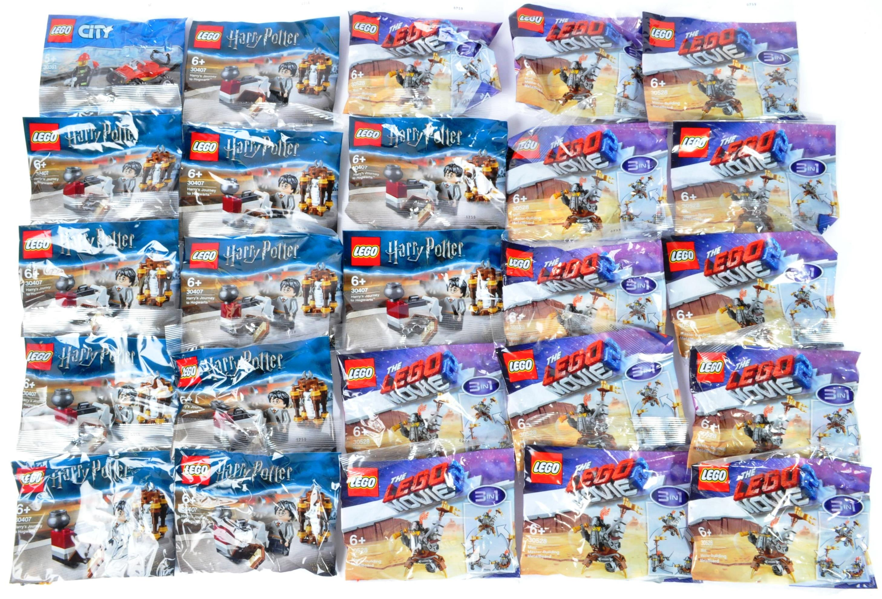 LEGO - LARGE COLLECTION OF LEGO MOVIE, CITY & HARRY POTTER SETS