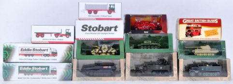 COLLECTION OF ASSORTED ATLAS DIE CAST MODEL VEHICLES
