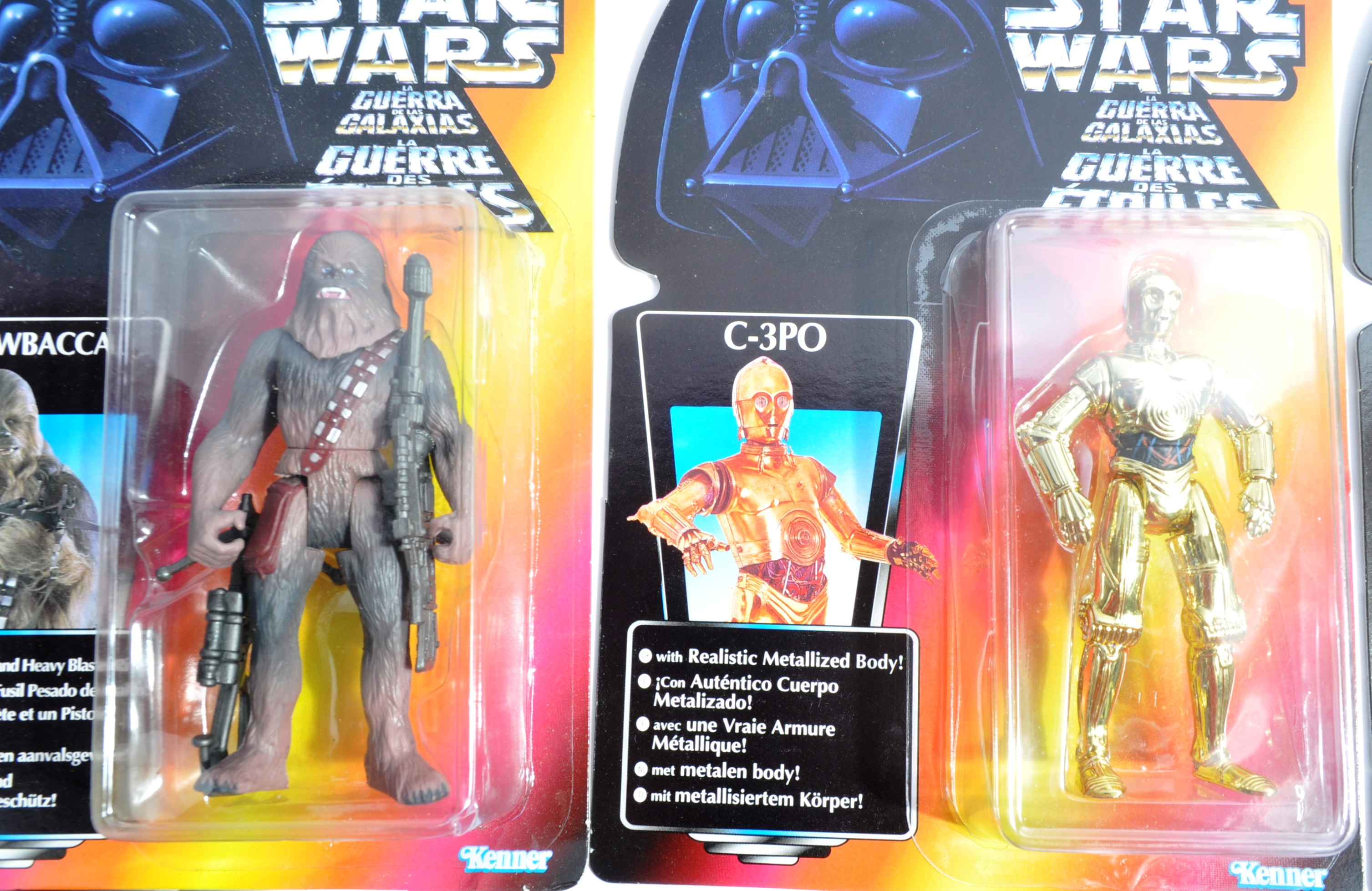 STAR WARS - COLLECTION OF KENNER CARDED ACTION FIGURES - Image 4 of 6