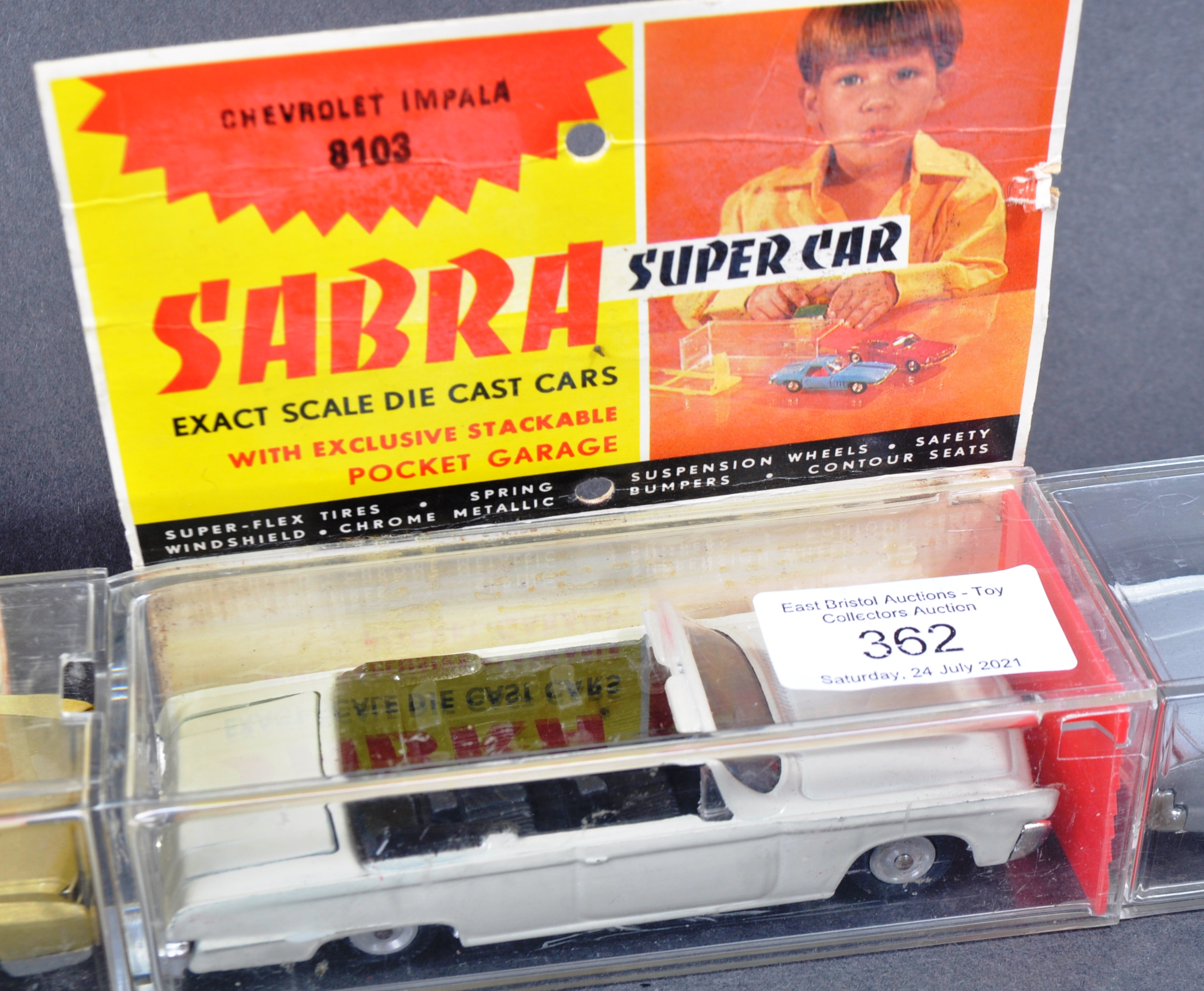 COLLECTION OF X4 VINTAGE ISRAELI MADE ' SABRA ' DIECAST MODEL CARS - Image 4 of 6