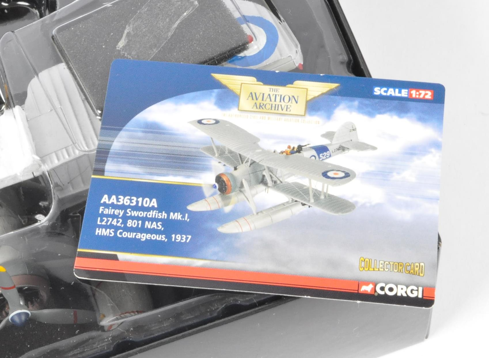 CORGI AVIATION ARCHIVE - AA36310A BOXED DIECAST MODEL PLANE - Image 2 of 4