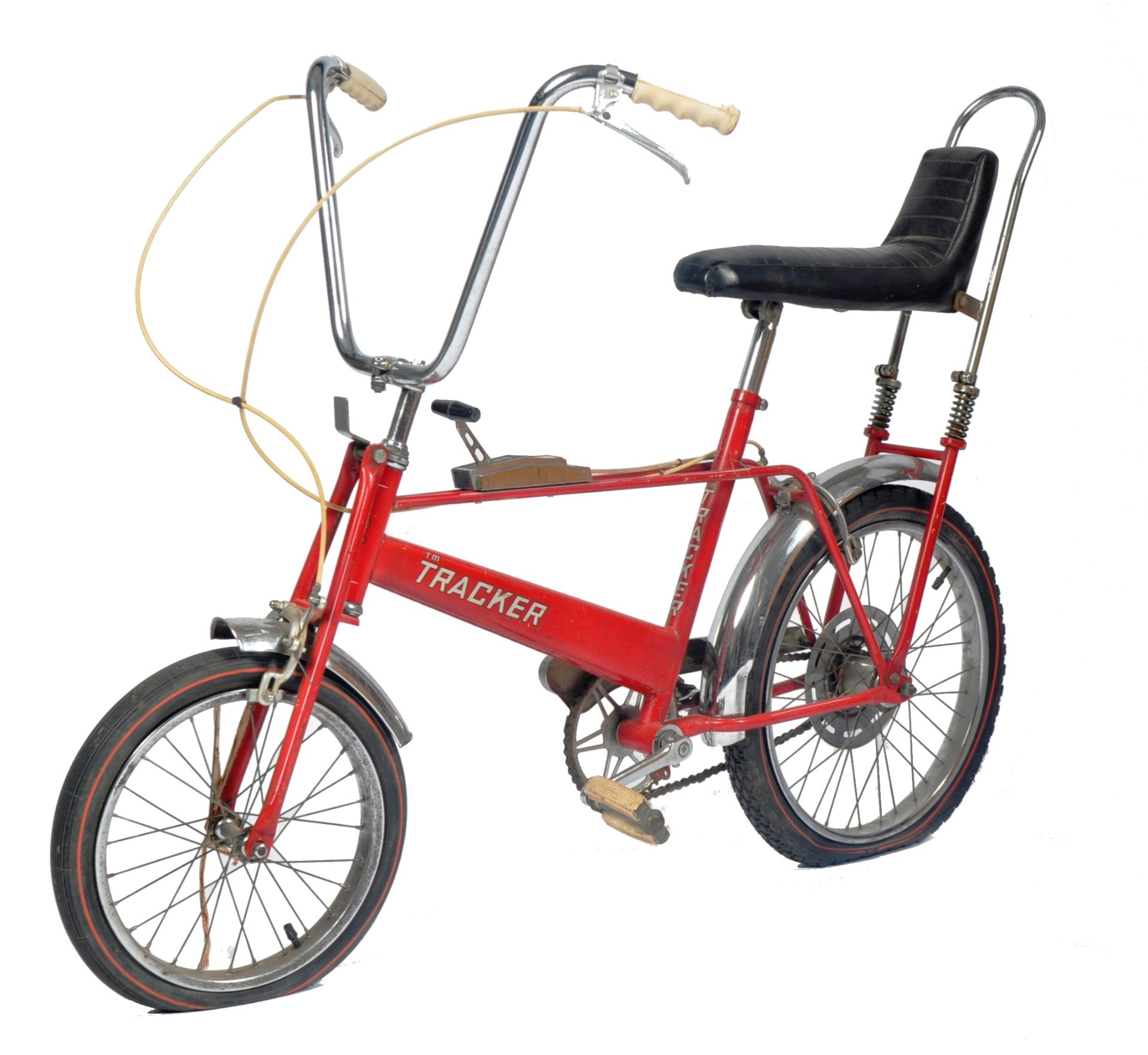 DIANA PRINCESS OF WALES - HER CHILDHOOD TRACKER BICYCLE - Image 2 of 11