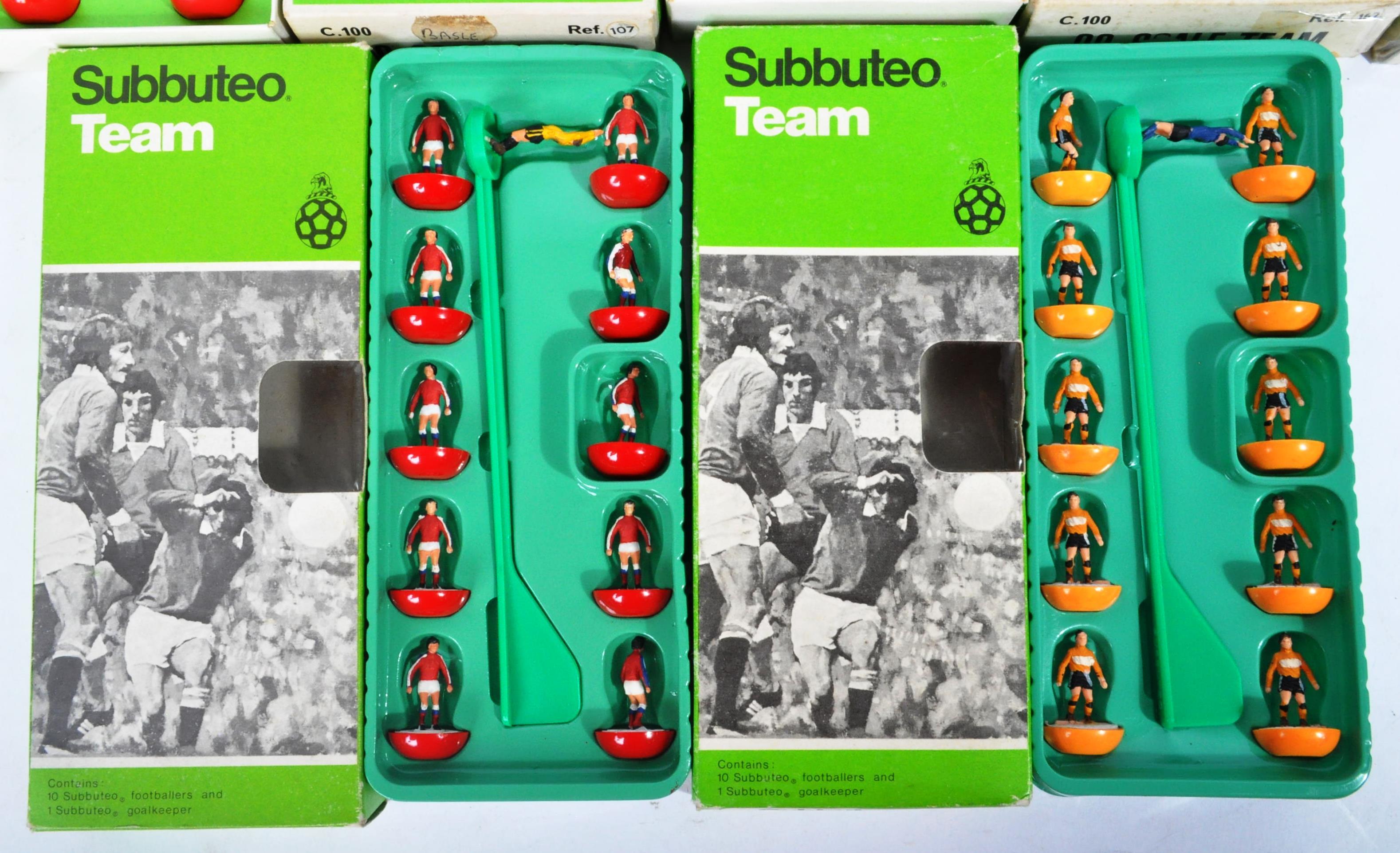 COLLECTION OF X5 ORIGINAL VINTAGE SUBBUTEO FOOTBALL TEAMS - Image 2 of 6