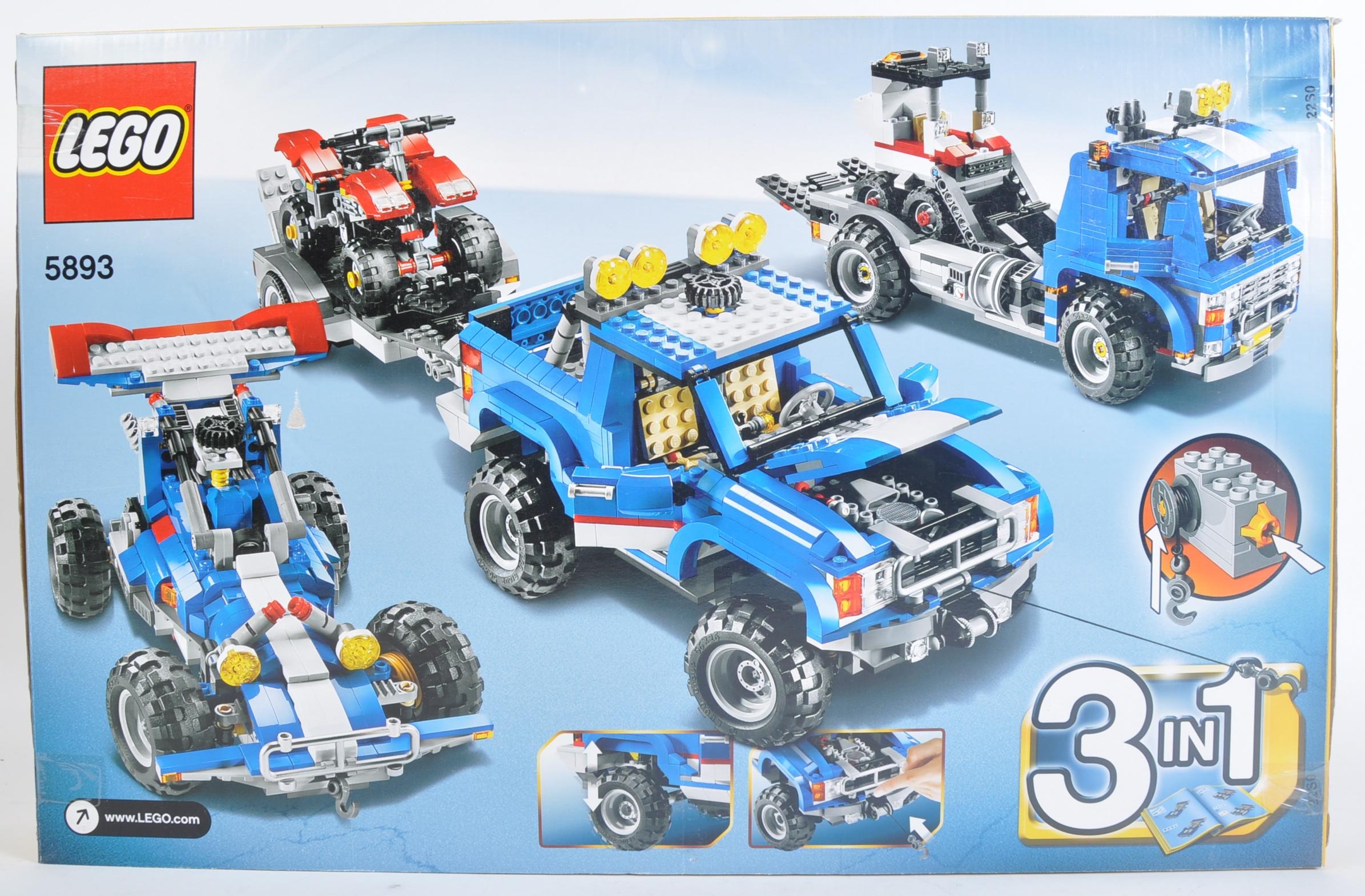 LEGO SET - LEGO CREATOR - 5893 - OFF ROAD POWER - Image 2 of 4