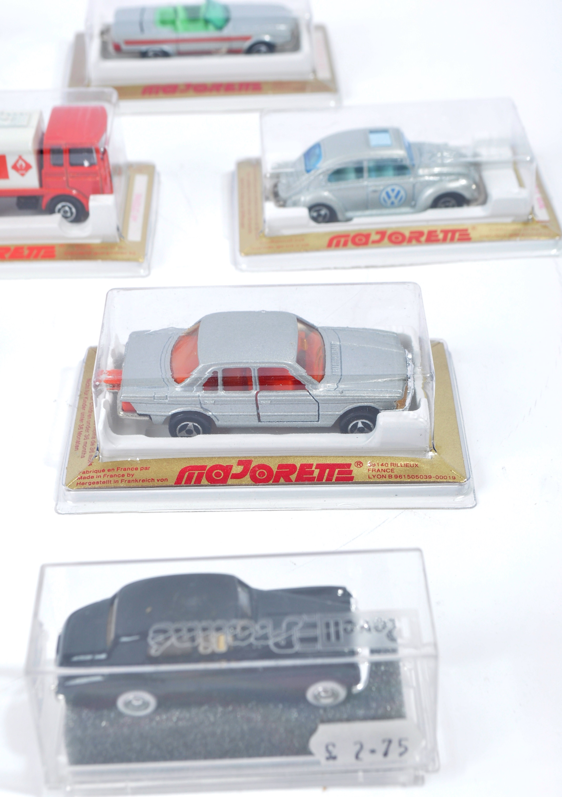 COLLECTION OF X16 ASSORTED MAJORETTE & REVELL MODEL CARS - Image 2 of 7