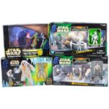 STAR WARS - COLLECTION OF HASBRO / KENNER POWER OF THE FORCE FIGURE SETS