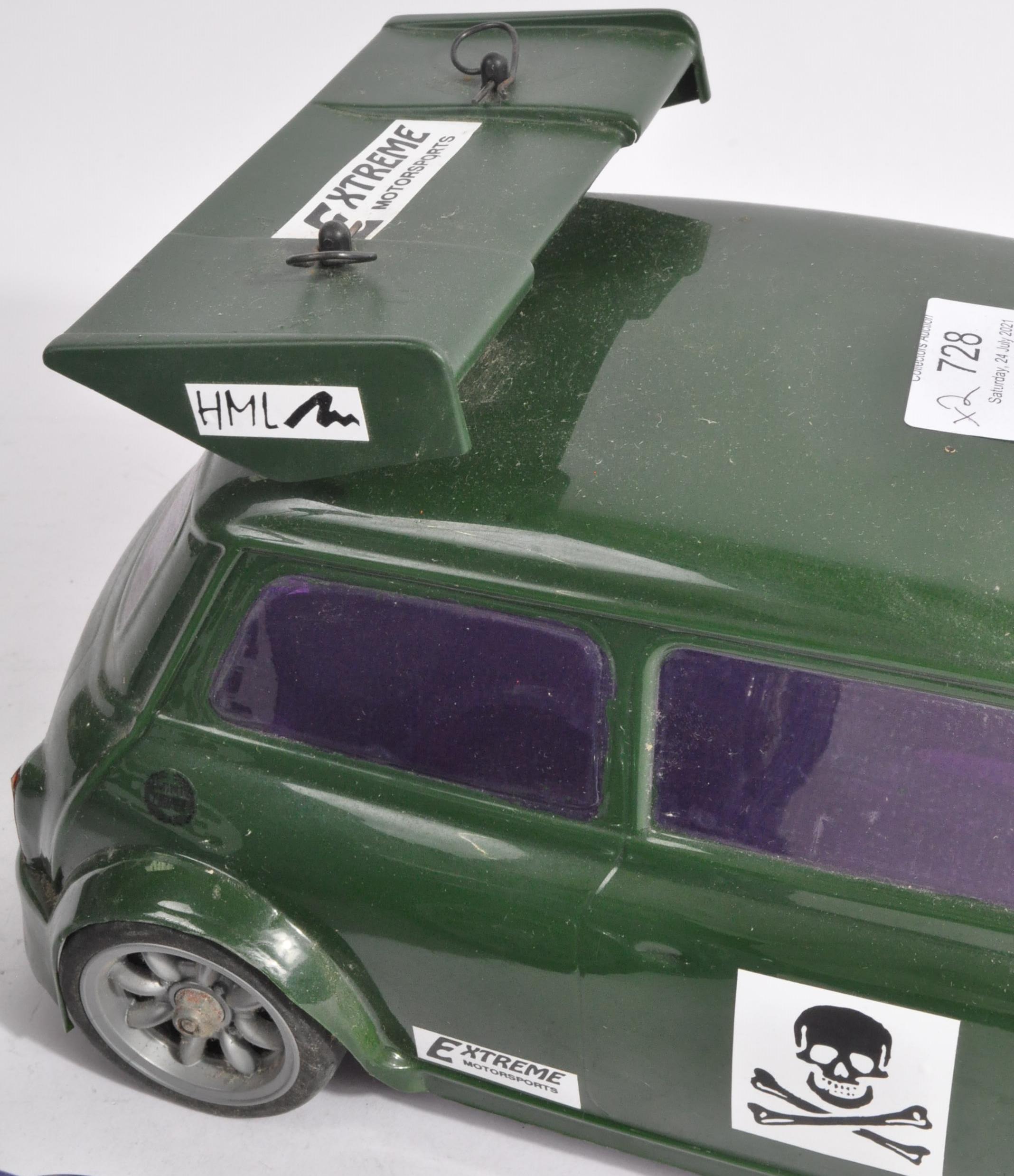 TAMIYA - TWO VINTAGE MINI COOPER RACING RC RADIO CONTROLLED CARS - Image 5 of 5