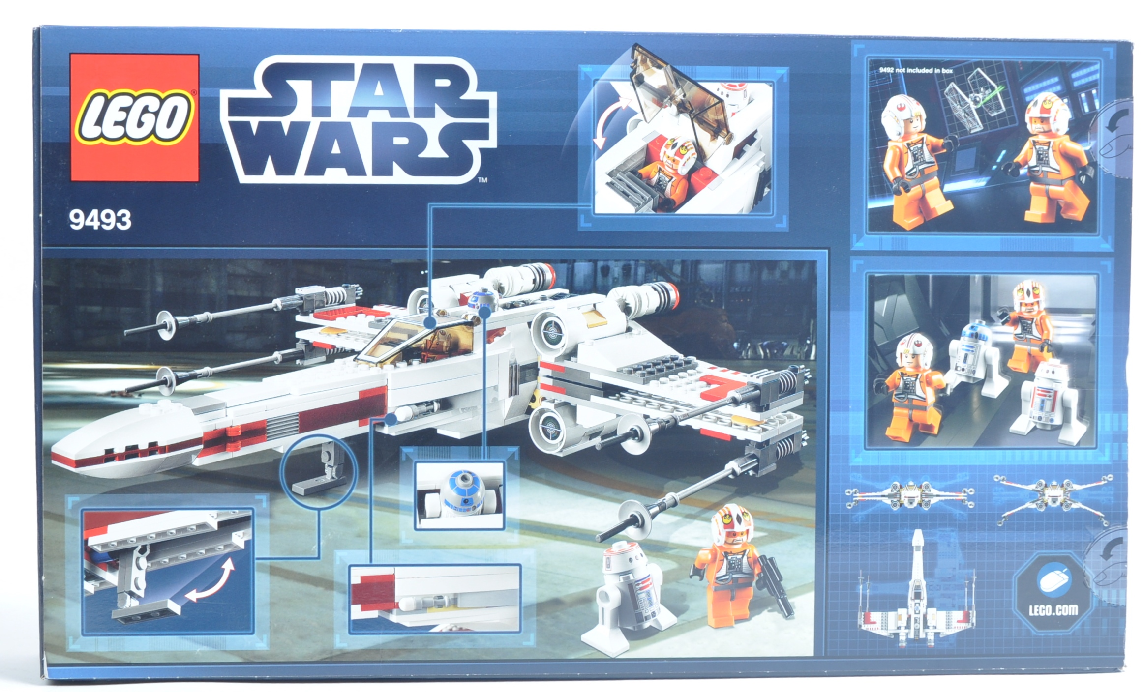 LEGO SET - LEGO STAR WARS - 9493 - X-WING STARFIGHTER - Image 2 of 4