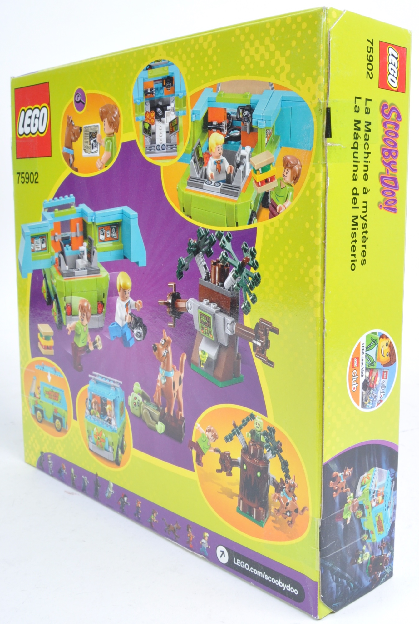 LEGO SET - SCOOBY DOO - 75902 - THE MYSTERY MACHINE - Image 3 of 4