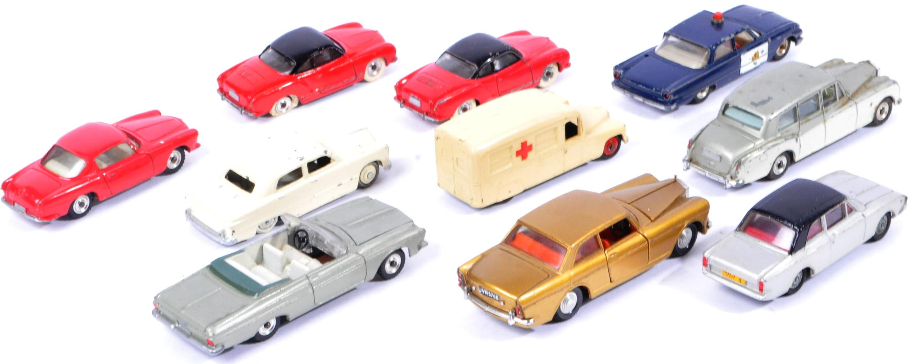 COLLECTION OF X10 VINTAGE DINKY TOYS DIECAST MODEL VEHICLES - Image 6 of 7