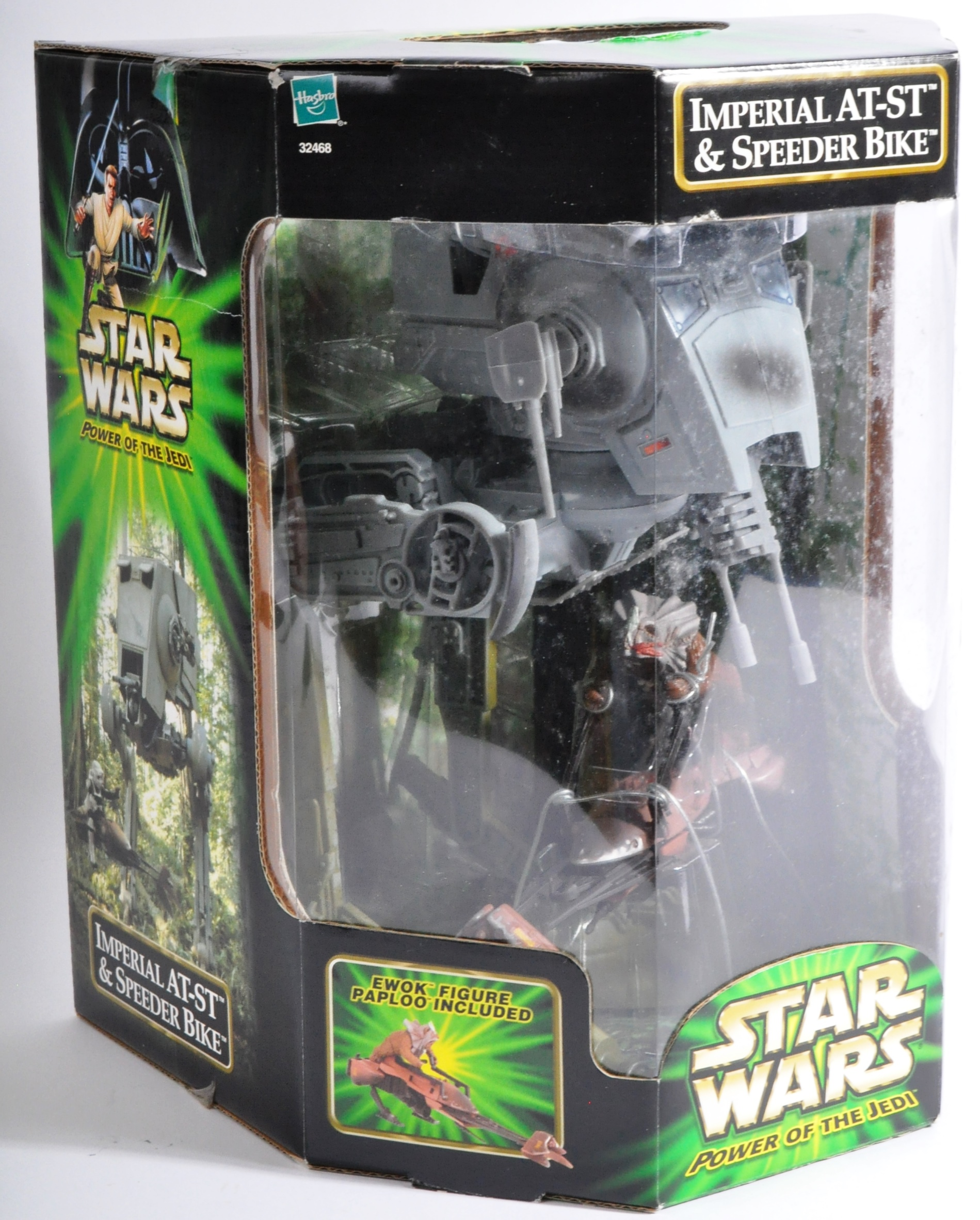 STAR WARS - HASBRO POWER OF THE JEDI ACTION FIGURE PLAYSET