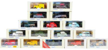 COLLECTION OF BOXED CORGI CLASSIC VEHICLES DIECAST MODELS