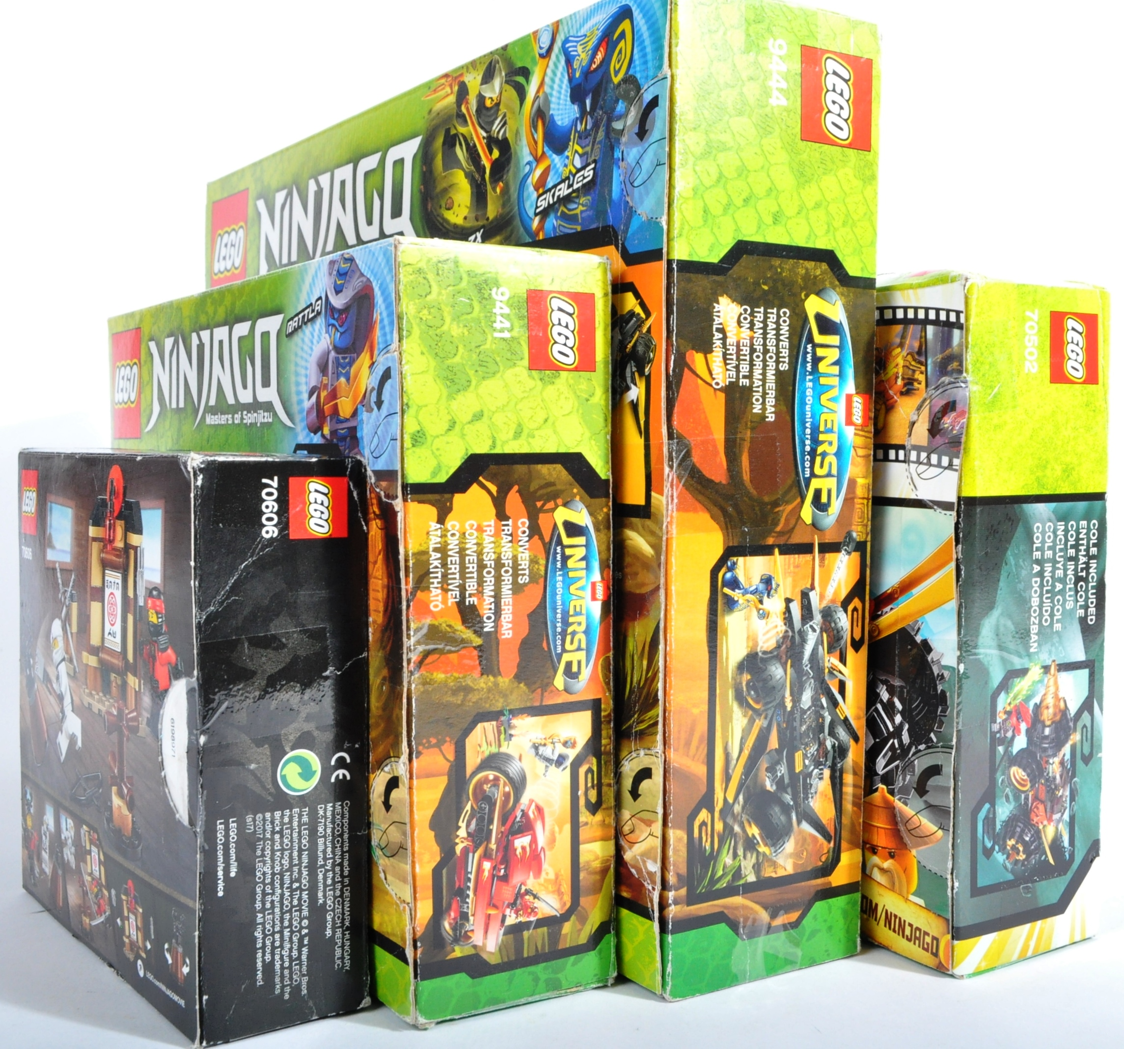 LEGO SETS - LEGO NINJAGO - 9441 / 70606 / 70502 / 9444 - Image 4 of 4