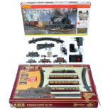 TWO AIRFIX AND HORNBY 00 GAUGE MODEL RAILWAY BOXED TRAINSETS