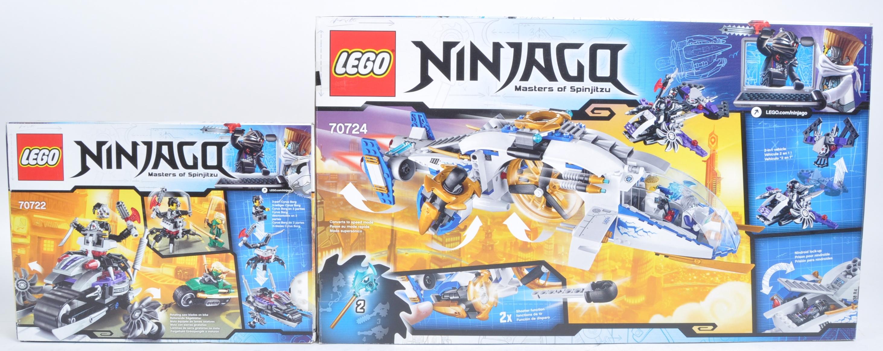 LEGO SETS - NINJAGO MASTERS OF SPINJITZU - 70722 / 70724 - Image 2 of 6