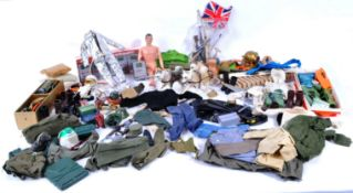ACTION MAN - LARGE COLLECTION OF VINTAGE PALITOY CLOTHING & ACCESSORIES