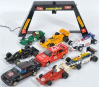 COLLECTION OF ASSORTED VINTAGE SCALEXTRIC SLOT RACING CARS