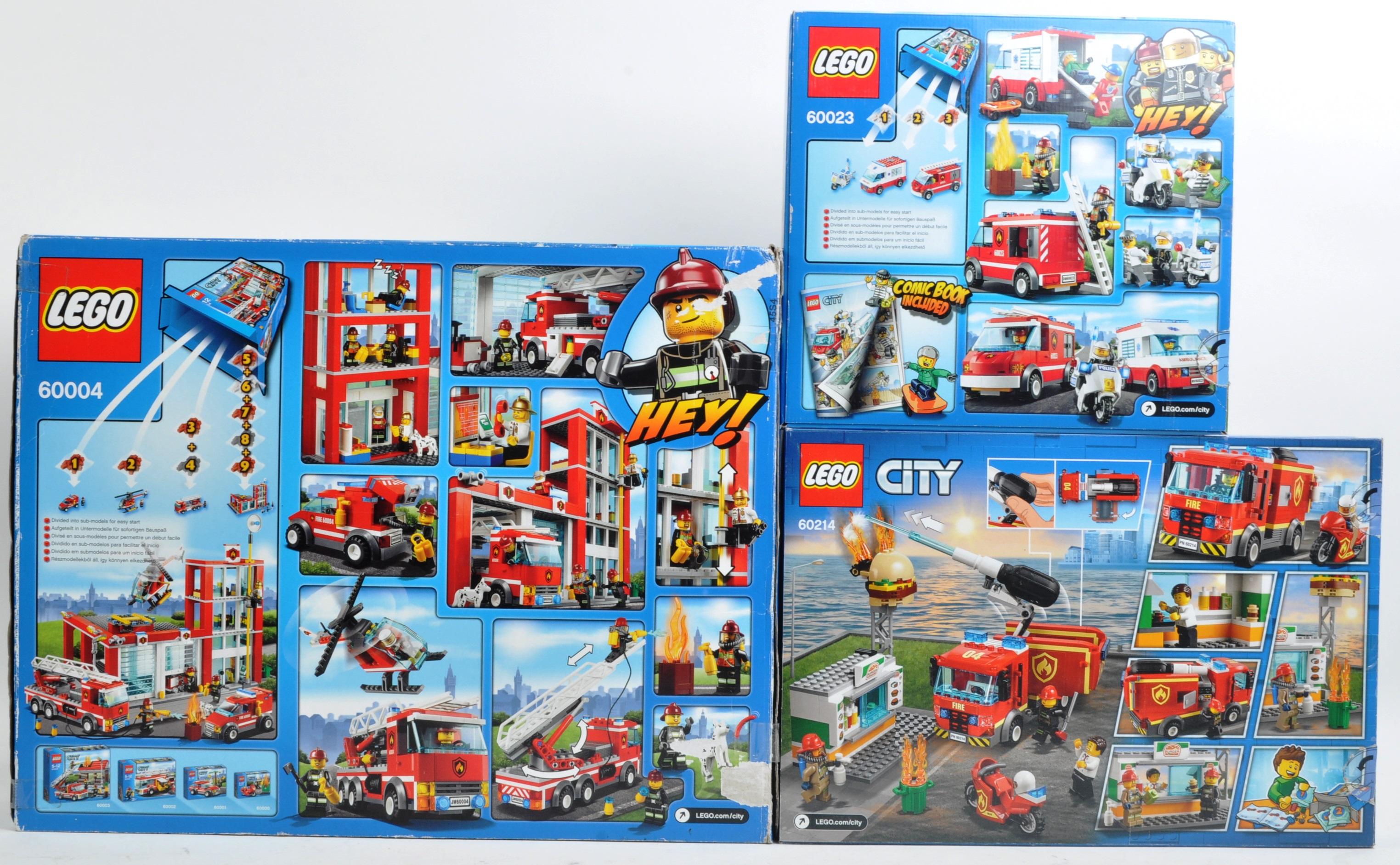 LEGO SETS - LEGO CITY - 60004 / 60214 / 60023 - Image 2 of 3
