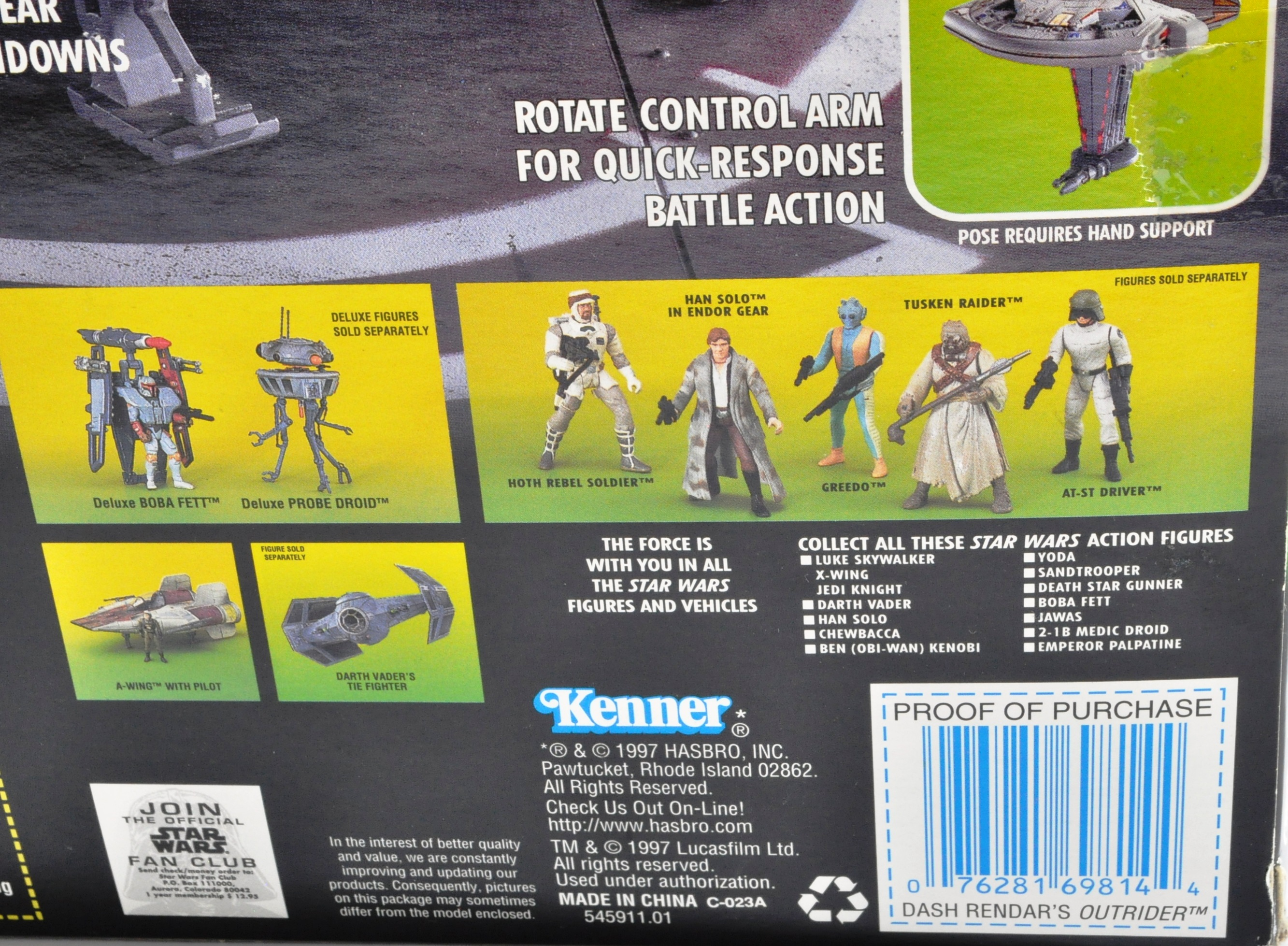 STAR WARS - KENNER COLLECTION POWER OF THE FORCE SEALED PLAYSET - Image 3 of 3