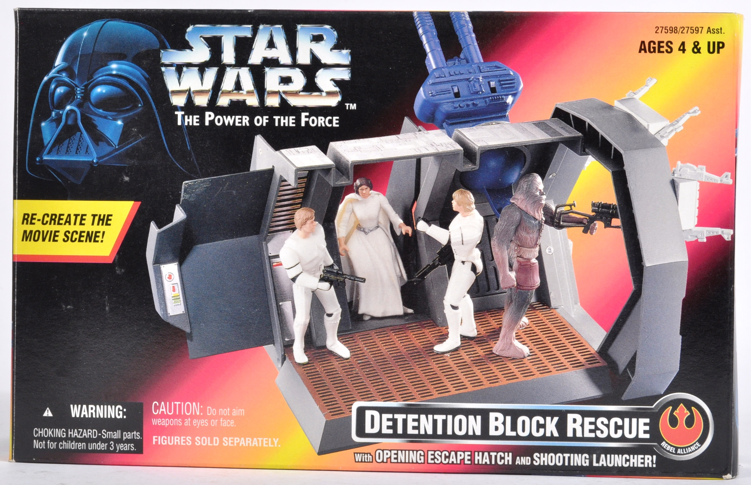 STAR WARS - COLLECTION OF KENNER POWER OF THE FORCES - Image 6 of 13