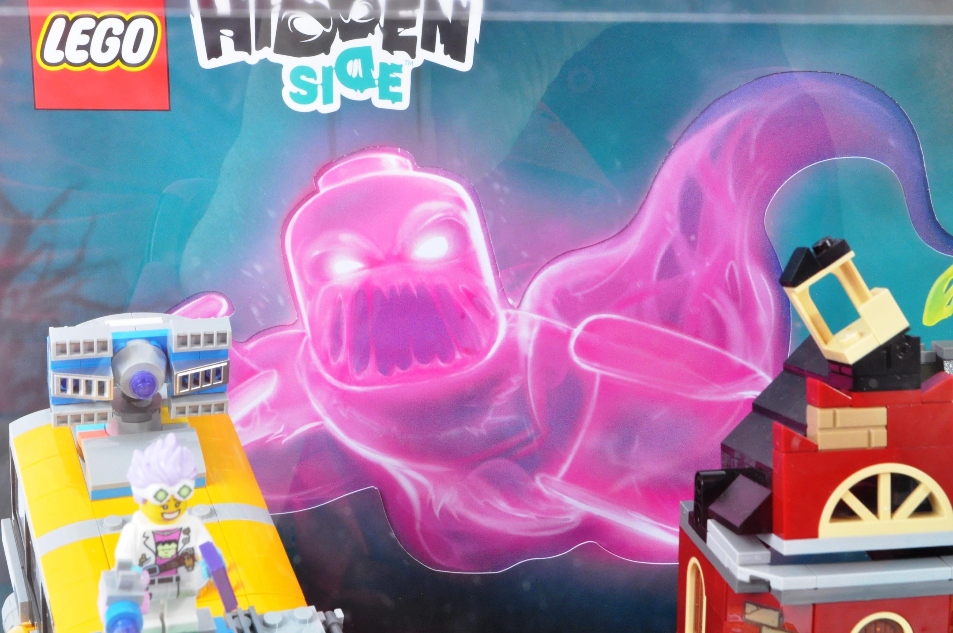 LEGO - HIDDEN SIDE - ORIGINAL IN STORE SHOP DISPLAY CABINET - Image 2 of 8