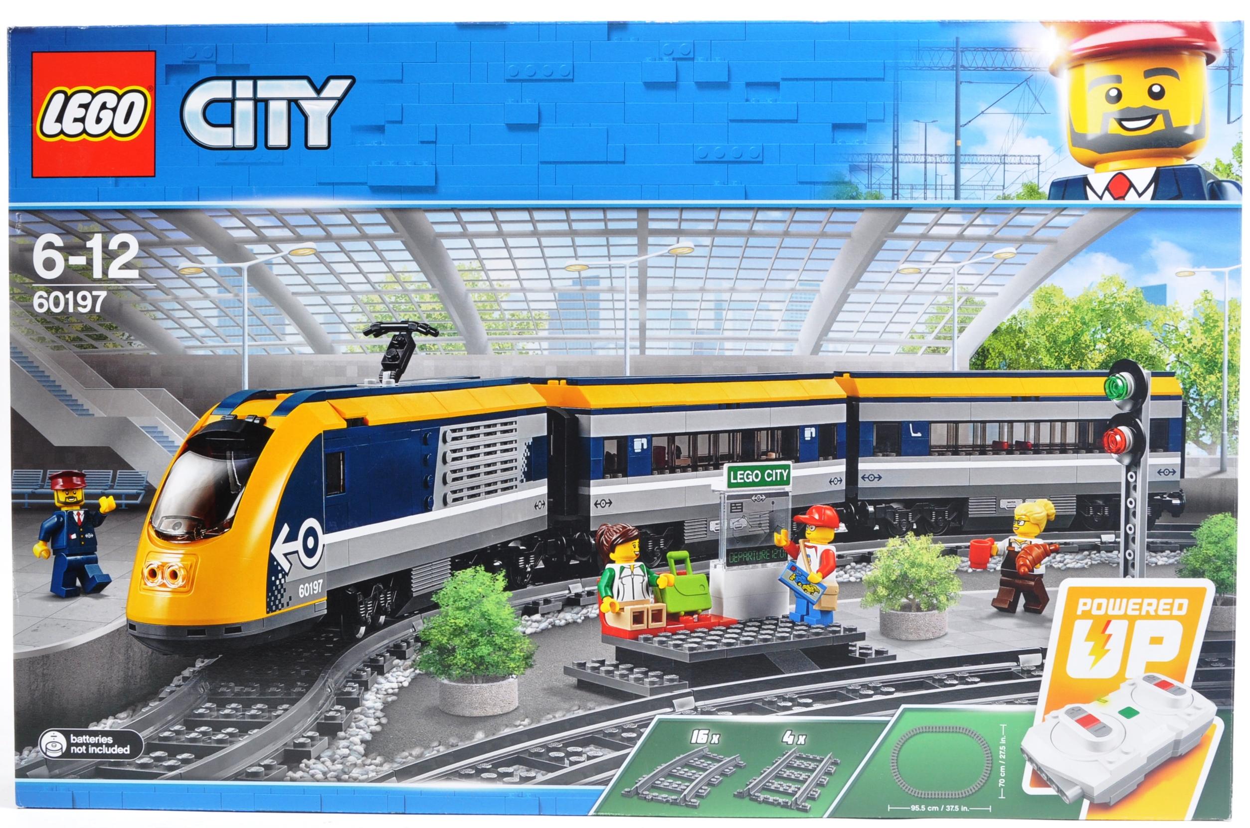 LEGO SET - LEGO CITY - 60197 - PASSENGER TRAIN