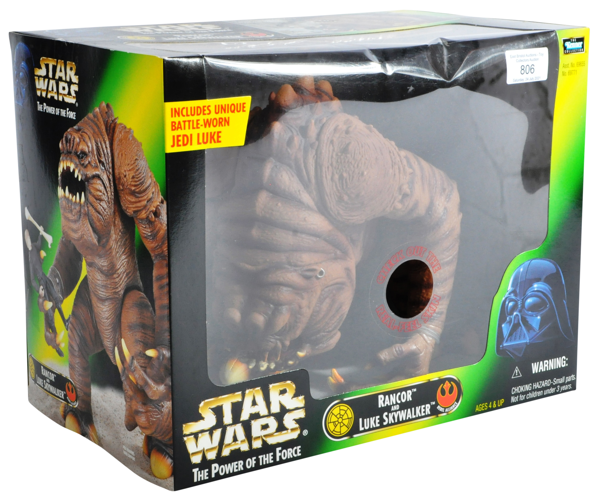 STAR WARS - POWER OF THE FORCE SEALED ACTION FIGURE PLAYSET