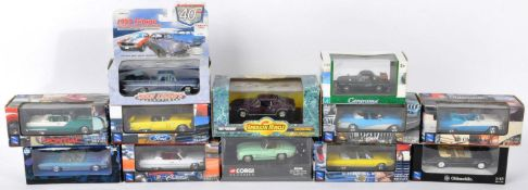 DIECAST - COLLECTION OF 1/43 SCALE PRECISION DIECAST BOXED MODELS